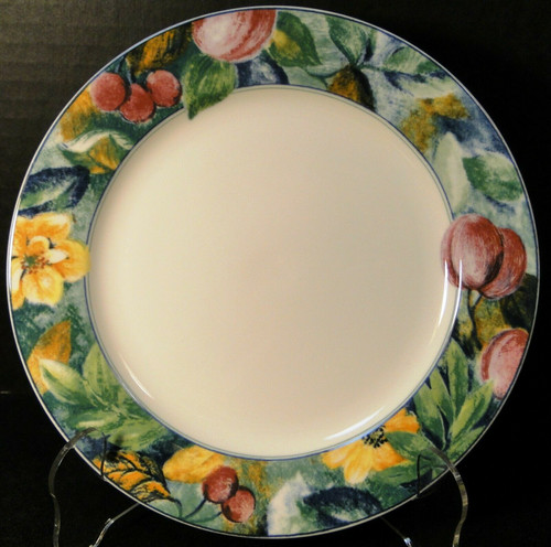 """Mikasa Ultima Plus Fruit Collage Salad Plate 7 3/4"""" HK 107 