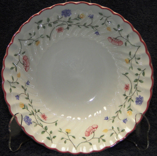 """Johnson Brothers Summer Chintz Vegetable Serving Bowl 8"""" Excellent"""