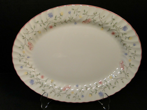 Johnson Brothers Summer Chintz Oval Serving Platter 13 5/8"