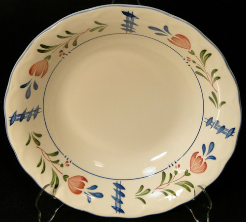 """Nikko Avondale Vegetable Serving Bowl 9 1/4"""" Provisional Designs Japan 