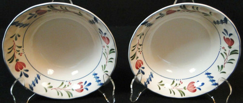 """Nikko Avondale Cereal Bowls 6 1/8"""" Provisional Designs Japan Set of 2 