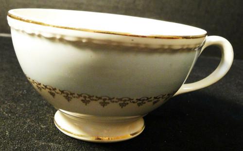Homer Laughlin Eggshell Georgian Chateau Blue Tea Cup Excellent