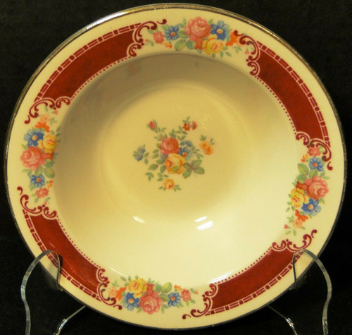 "Homer Laughlin Brittany Majestic Cereal Bowl 6 1/4"" Excellent"