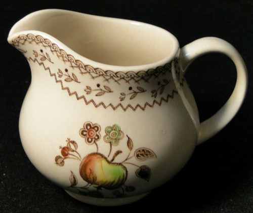 Johnson Brothers Fruit Sampler Creamer Old Granite | DR Vintage Dinnerware and Replacements