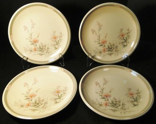 "Noritake Keltcraft Deerfield Salad Plates 8 1/8"" 9159 Set of 4 | DR Vintage Dinnerware and Replacements"