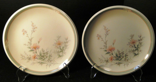 "Noritake Keltcraft Deerfield Salad Plates 8 1/8"" 9159 Set of 2 Excellent"