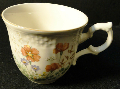 Mikasa Margaux Tea Cup D1006 Fine Ivory | DR Vintage Dinnerware and Replacements