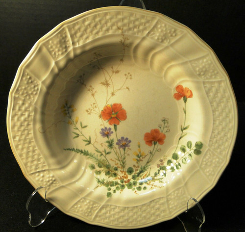 """Mikasa Margaux Vegetable Serving bowl 10 1/4"""" D1006 Fine Ivory 