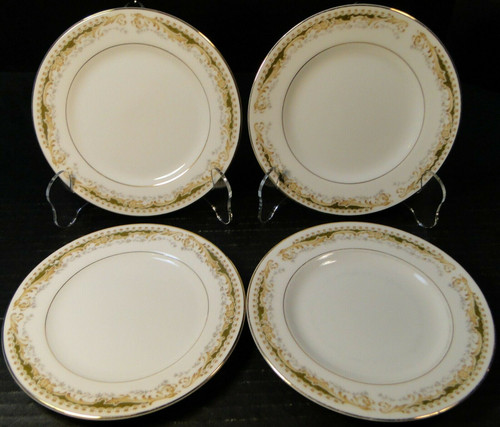 "Signature Collection Queen Anne Bread Plates 6 1/4"" Set of 4 Excellent"