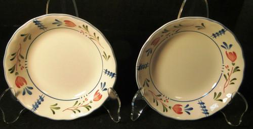 "Nikko Avondale Berry Bowls 5 1/4"" Provisional Designs Japan Set of 2 Excellent"