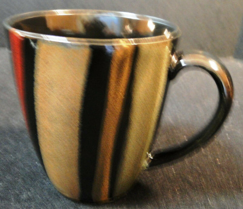 Sango Avanti Black Coffee Mug Cup 4721 Excellent
