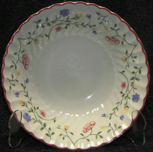 "Johnson Brothers Summer Chintz Vegetable Serving Bowl 8"" Floral Mark Excellent"