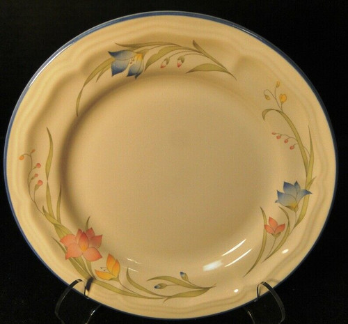 "French Garden Salad Plate 7 3/4"" Genuine Stoneware Thailand 