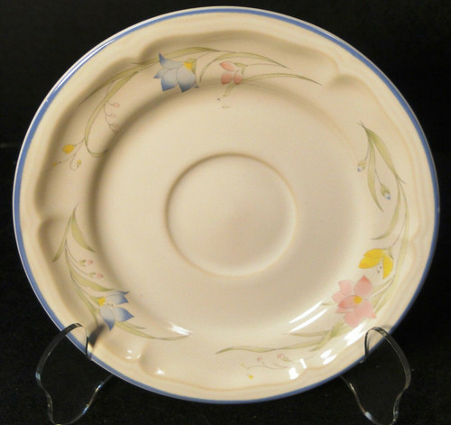 French Garden Saucer Genuine Stoneware Thailand | DR Vintage Dinnerware and Replacements