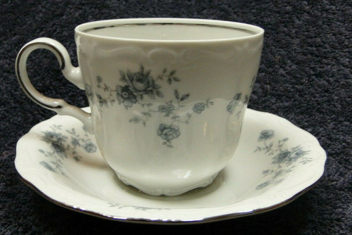 Johann Haviland Bavaria Blue Garland Tea Cup Mug Saucer Set | DR Vintage Dinnerware Replacements