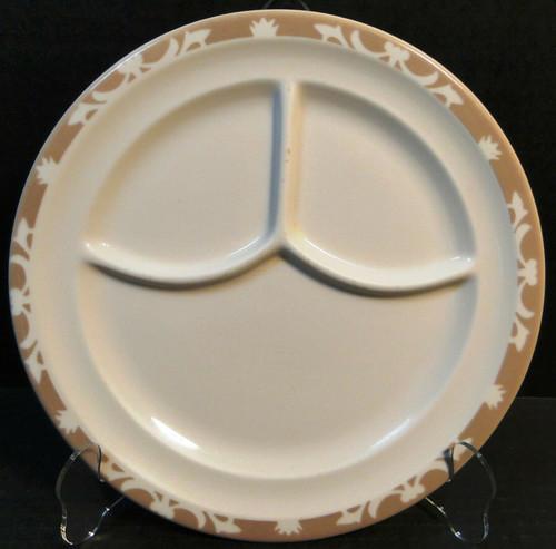 "Syracuse Nutmeg Grill Dinner Plate 9 5/8"" Restaurant Ware Excellent"