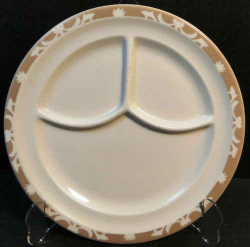 """Syracuse Nutmeg Grill Dinner Plate 9 5/8"""" Restaurant Ware 