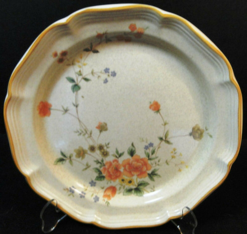 "Mikasa Silk Bouquet Dinner Plate 10 3/4"" EC 463 Garden Club 