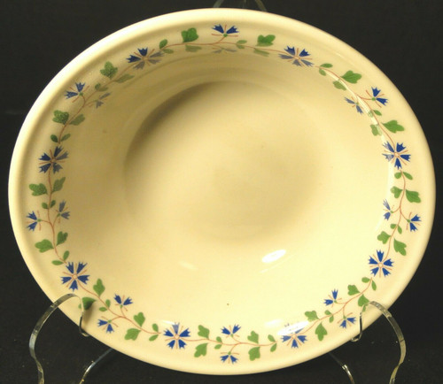 "Iroquois Periwinkle Cereal Bowl 6"" Henry Ford Museum Collection Excellent"