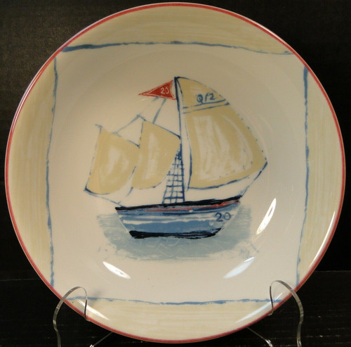 Mikasa Bar Harbor Soup Bowl 8 1/4 SL105 Salad Portugal | DR Vintage Dinnerware and Replacements