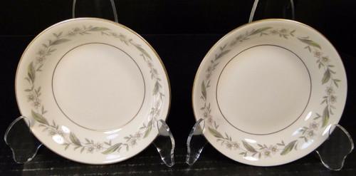 "Royal Jackson Bridal Wreath Berry Fruit Dessert Bowls 5 1/2"" Set of 2 Nice"