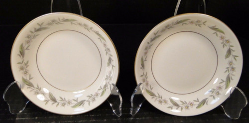 "Royal Jackson Bridal Wreath Berry Fruit Dessert Bowls 5 1/2"" Set of 2 