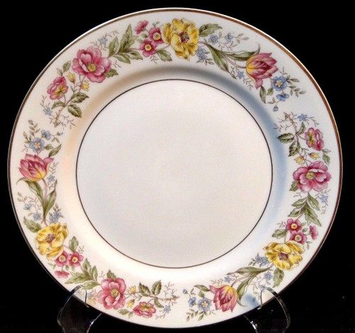 "Royal Jackson Fine China Maytime Salad Plate 8"" Excellent"