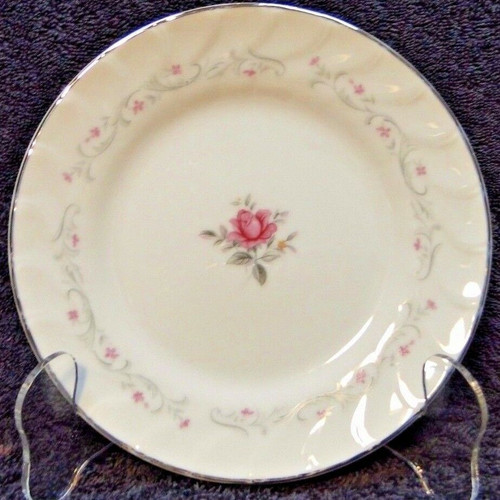 Fine China of Japan Royal Swirl Salad Plate 7 5/8"