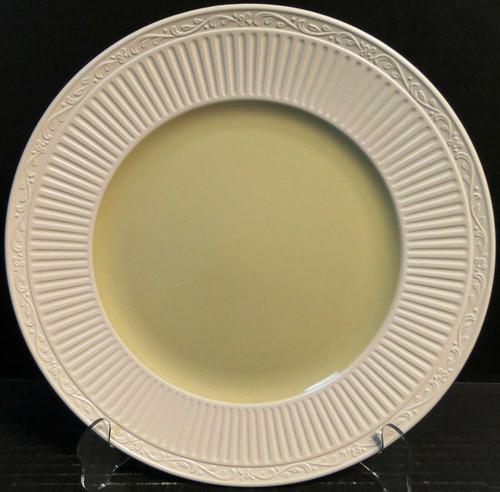 "Mikasa Italian Sage Dinner Plate 11 1/4"" DD911 White Green Excellent"