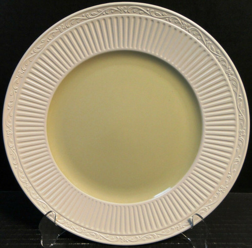 """Mikasa Italian Sage Dinner Plate 11 1/4"""" DD911 White Green   DR Vintage Dinnerware and Replacements"""
