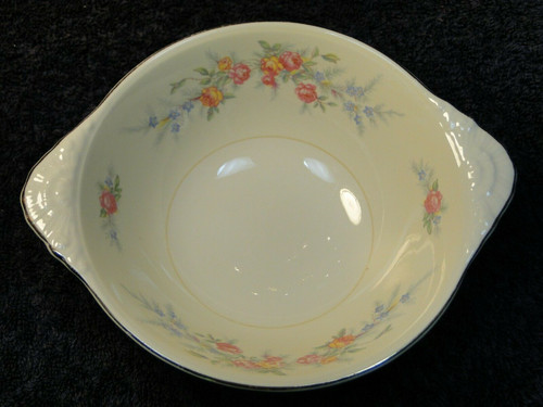 """Homer Laughlin Nautilus Ferndale Lugged Cereal Bowl 6 3/4"""" 