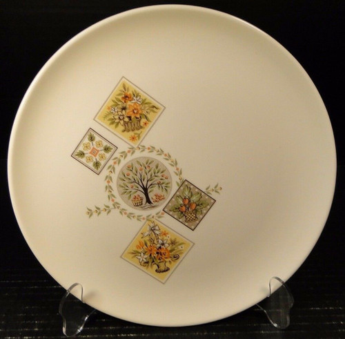 """Taylor Smith Taylor Brocatelle Dinner Plate 10 1/4"""" Ever Yours 