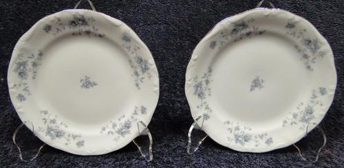 "Johann Haviland Blue Garland Bread Plates Bavaria 6 1/4"" Set of 2   DR Vintage Dinnerware and Replacements"