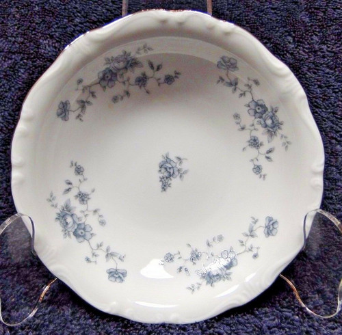 Johann Haviland Bavaria Blue Garland Berry Fruit Dessert Bowl | DR Vintage Dinnerware and Replacements