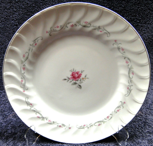 Fine China of Japan Royal Swirl Dinner Plate 10 1/4"