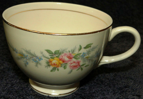 Homer Laughlin Eggshell Nautilus Ferndale Tea Cup Excellent
