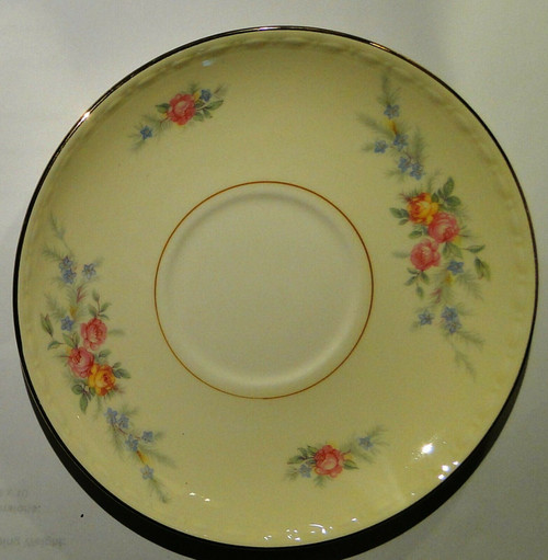 Homer Laughlin Eggshell Georgian Cashmere Saucer | DR Vintage Dinnerware and Replacements