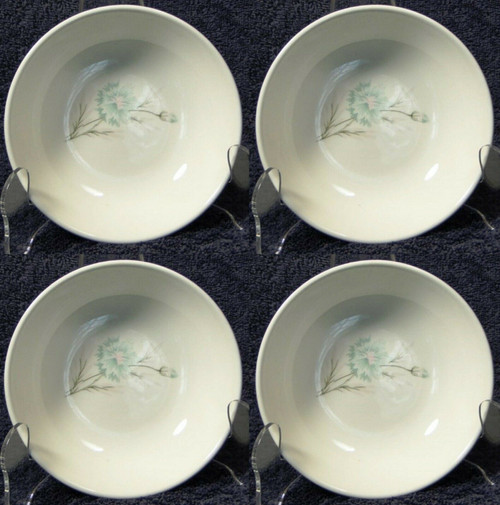 "Taylor Smith Taylor Boutonniere Berry Bowls 5 1/4"" Ever Yours Set 4 Excellent"