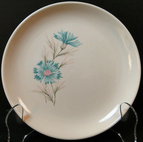 """Taylor Smith Taylor Boutonniere Bread Plate 6 3/4"""" Ever Yours 