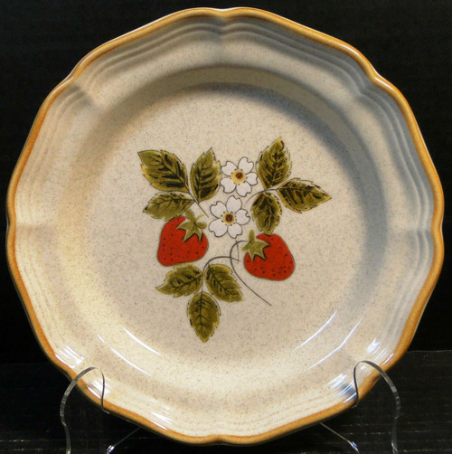 """Mikasa Strawberry Festival Salad Plate 8"""" EB 801 