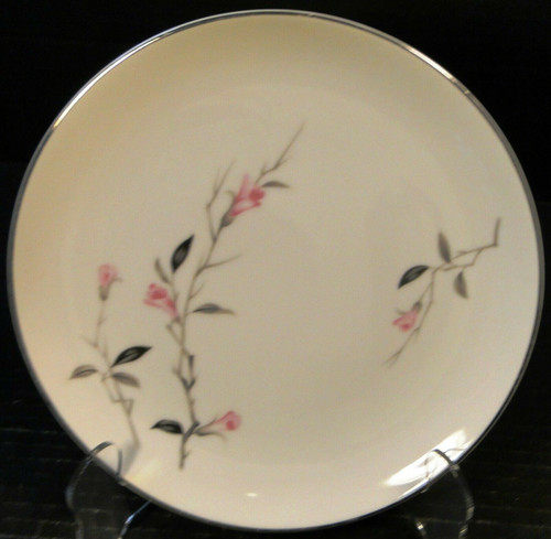 """Fine China of Japan Cherry Blossom Bread Plate 6 3/8"""" 1067 Excellent"""