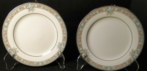 """Noritake Lunceford Bread Plates 3884 6 1/2"""" Legendary Set of 2   DR Vintage Dinnerware and Replacements"""