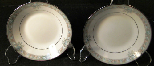 """Noritake Lunceford Berry Bowls 3884 5 1/2"""" Legendary Set of 2   DR Vintage Dinnerware and Replacements"""