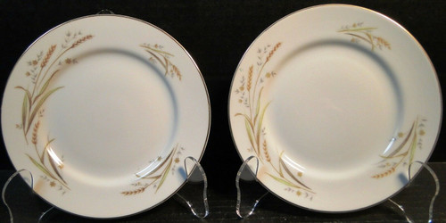 "Fine China Japan Golden Harvest Bread Plates 6 1/4"" Set of 2 
