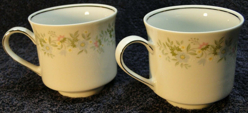Johann Haviland Bavaria Forever Spring Tea Cups Set of 2 Excellent