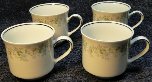Johann Haviland Bavaria Forever Spring Tea Cups Set of 4 Excellent