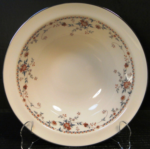 """Noritake Adagio Large Round Vegetable Serving Bowl 10"""" 7237 