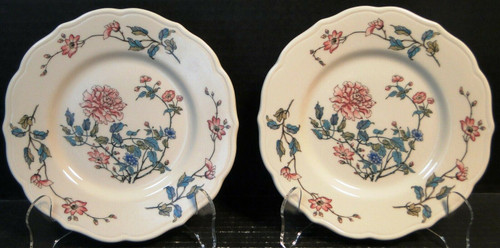 "Syracuse Summerdale Dessert Plates 7"" Vintage Restaurant Ware Set of 2 