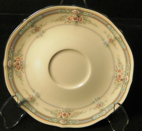 "Noritake Rothschild Saucer 6"" 7293 Ivory China 