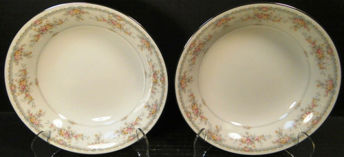"Noritake Veranda Soup Bowls 7 5/8"" 3015 Set of 2 